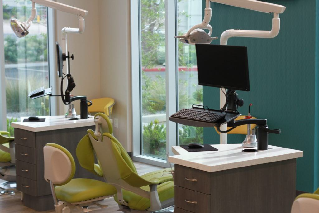 Dental Chairs at Mountain West Dental Specialists
